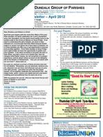 Parish Newsletter - April 2012