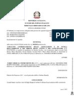 Tribunale di Milano-sentenza del 12 marzo 2012 class action