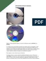 Diferencias Entre Un Dvd+r y Un Dvd-r