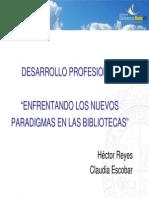 Claudia Escobar - Héctor Reyes (presentación)
