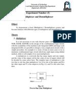 Multiplexer and Demultiplexer (5)