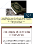 Understanding Energy Propagation from The Quran