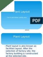 Plant Layout m