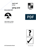 Code 2006 Accounting Level 2 2001 Series 2