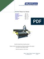MultiCam 3000 CNC Router User Manual