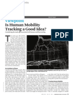 Is Human Mobility Tracking a Good Idea