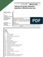 NBR ISO 14001 - 2004