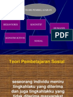 Teori Pembelajaran Sosial-BANDURA