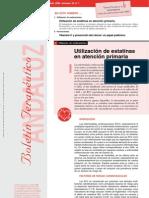 7  Utilización de estatinas en atención primaria