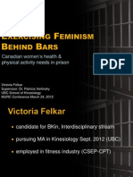 Exercising Feminism Behind Bars Full