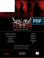 Anima Beyond Fantasy - Supplement Web Vol 1
