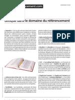 Www.experts Referencement.com Lexique Dans Le Domaine Du Refer en Cement