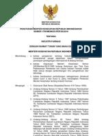 2010 Permenkes No. 1799 Ttg Industri Farmasi
