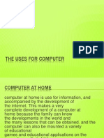The Uses for Computer