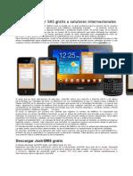 Enviar SMS Gratis a Celulares Internacionales 2012