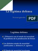 Donna. La Legitima Defensa