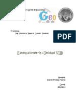 Estequiometria (Unidad VIII)