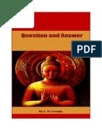 Questions Answers Goenka