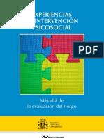 Libro Experiencias Intervención psicosocial