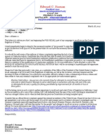 FORM LETTER Prior to Inform of Intent to Seek Proponents