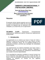 Comportamiento organizacional y satisfaccion laboral - Pérez Vera