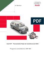 363 - Audi Q7 Trasmisión caja de trasferencia