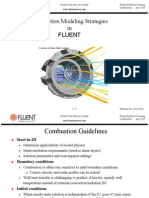 Combustion Modeling Strategies FLUENT