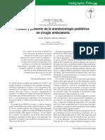 Pasado y presente de la anestesiología pediátrica