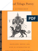 Classical Telugu Poetry_An Anthology - E-Books
