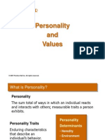 Chapter 4 Personality and Values