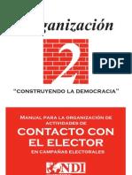Manual para la Organización de Actividades de Contacto con el Elector en Campañas Electorales