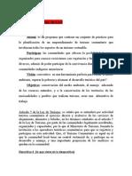 Turismo Sostenible El Texto Para Presentacion