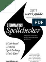 Stedman's 2011 User Guide