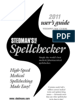 Stedman's 2011 User Guide