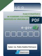Plan Estratégico de Gobierno Electrónico para el Instituto de Vivienda de Corrientes
