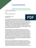 Carta Simon Bolivar y El Coran de Los Musulmanes Carta Al General Daniel Florencio O'Leary