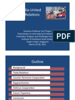 Thayer Power Point Slides for Cambodia-US Relations