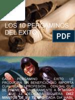 Los 10 Pergaminos Por Og Mandino Mayo 2008