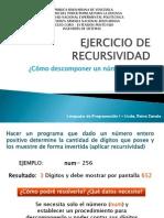 EJERCICIO DE RECURSIVIDAD