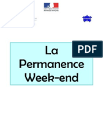 La Permanence Week-End