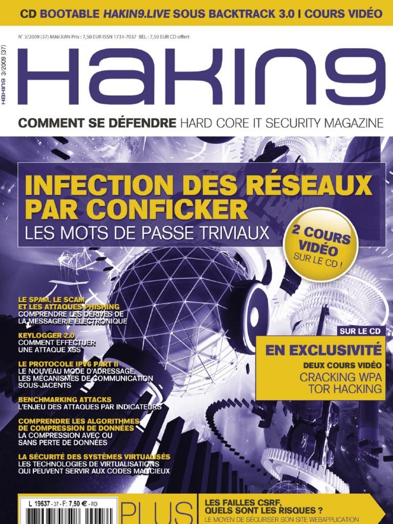 Hakin40 40 20040  FR   I Pv40   Vulnérabilité Informatique