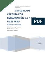 PARCIAL_Cuotas Individuales de Pesca en el Perú