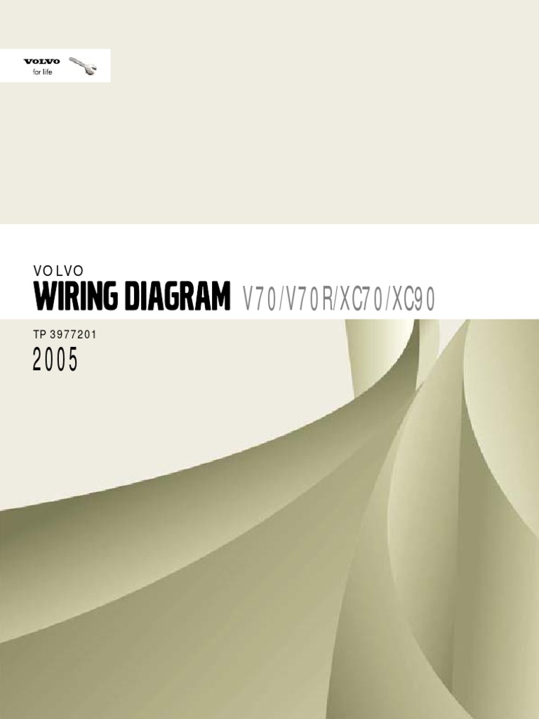 2005 Volvo V70r Xc70 Xc90 Car Wiring Diagram 1