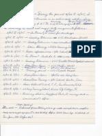 Written Navy Timeline