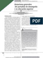 032 Uso Del Port a Folio en Educacion Superior