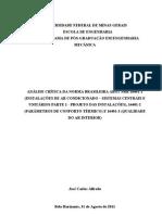 Dissertação Norma ABNT 16401 (1,2,3)