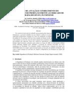 Areas de Atuacao e Conhecimento Do Engenheiro de Producao Frente Ao Mercado de Trabalho Do Sul Fluminense