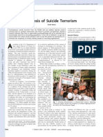 Scott Atran - Genesis of Suicide Terrorism