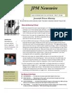 JPM March 2012 Newsletter