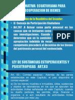 Normativa Ecuatoriana Para Recuperacion de Bienes